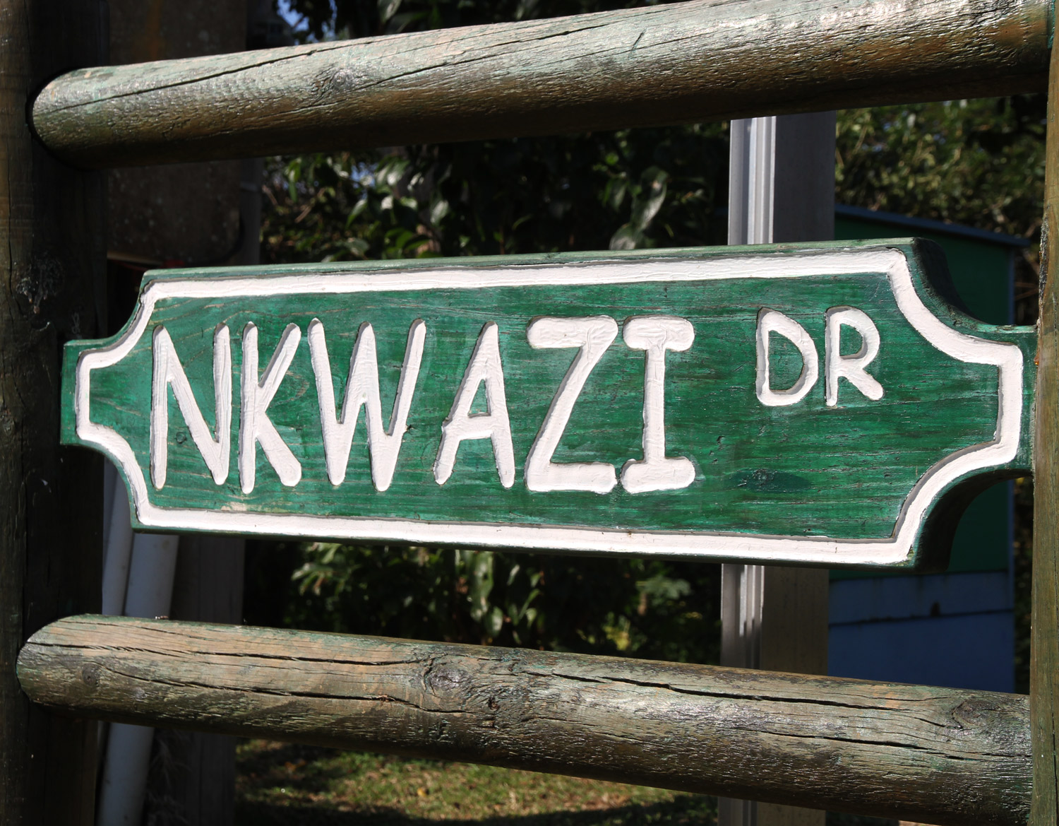 Nkwazi Drive Road Sign